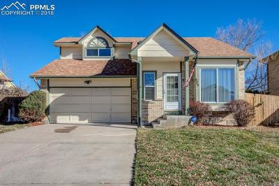 Colorado Springs Single Family Home For Sale: 575 Lindstrom Drive