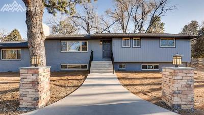 Colorado Springs Single Family Home For Sale: 109 Vine Street