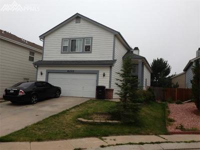 Colorado Springs CO Single Family Home For Sale: $275,000