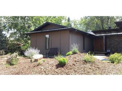Manitou Springs Single Family Home For Sale: 325 Sutherland Place