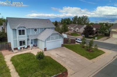 Colorado Springs Single Family Home Under Contract - Showing: 4245 Sabin Court