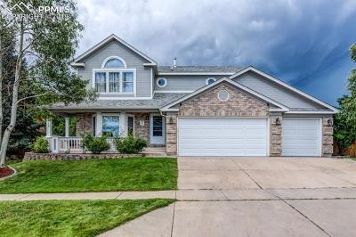 Colorado Springs CO Single Family Home For Sale: $415,000