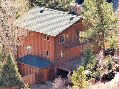 Manitou Springs Single Family Home For Sale: 1425 Sutherland Creek Road