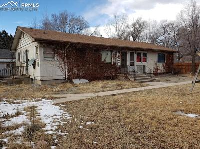 Colorado Springs Residential Income Under Contract - Showing: 1101 E Boulder Street