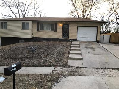 Colorado Springs Single Family Home For Sale: 1767 Sawyer Way