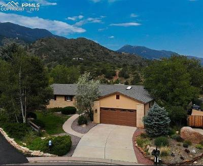 Manitou Springs Single Family Home For Sale: 545 Crystal Hills Boulevard