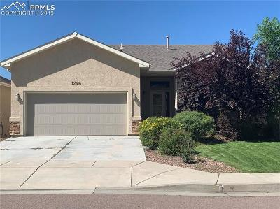 Colorado Springs Single Family Home For Sale: 1246 Ethereal Circle