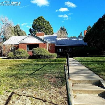 Colorado Springs Single Family Home Under Contract - Showing: 2311 Wood Avenue