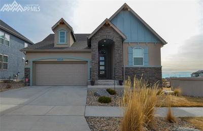 Colorado Springs Single Family Home For Sale: 5555 Wolf Village Drive