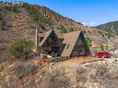 Manitou Springs Single Family Home For Sale: 913 Chipeta Road