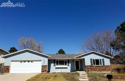 Colorado Springs Single Family Home For Sale: 1265 Friendship Lane