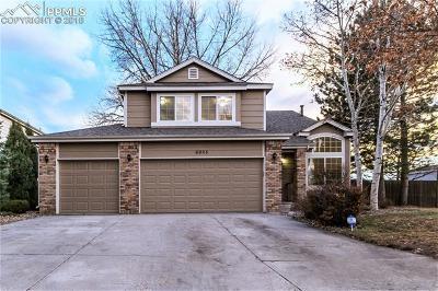 Colorado Springs Single Family Home For Sale: 6905 Ashley Drive