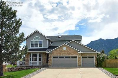Colorado Springs Single Family Home For Sale: 4315 Danceglen Drive
