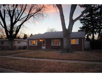 Colorado Springs Single Family Home For Sale: 2408 N Meade Avenue
