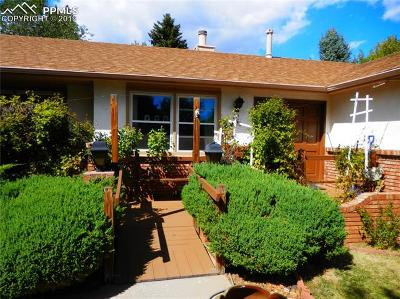 Manitou Springs Single Family Home For Sale: 316 Clarksley Road