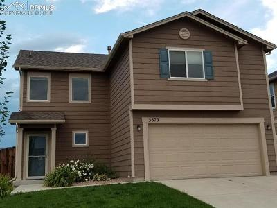 Single Family Home For Sale: 3673 Winter Sun Drive