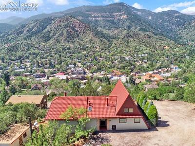 Manitou Springs Single Family Home For Sale: 44 Grant Avenue
