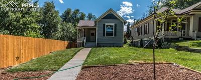 Old Colorado City Single Family Home For Sale: 2427 W Platte Avenue