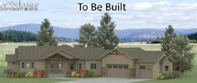 Calhan Single Family Home For Sale: 17946 Prairie Coach View
