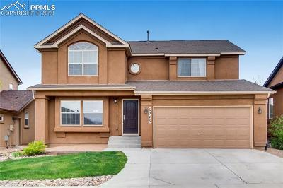 Colorado Springs Single Family Home For Sale: 6046 Harney Drive