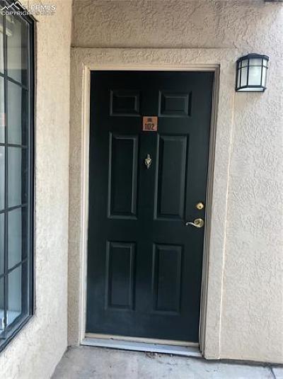Colorado Springs Condo/Townhouse For Sale: 2187 Denton Grove #102
