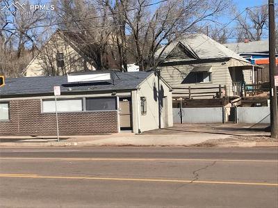 Colorado Springs Commercial For Sale: 3120 W Colorado Avenue