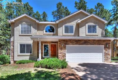 Colorado Springs Single Family Home For Sale: 1520 Woodrose Court