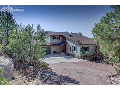 Colorado Springs Single Family Home For Sale: 6115 Lemonwood Drive
