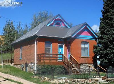 Cripple Creek Single Family Home For Sale: 511 E Golden Avenue