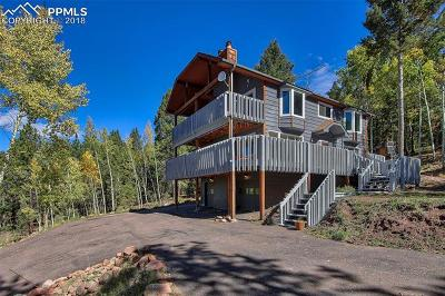 Woodland Park Single Family Home For Sale: 1140 Forest Hill Place