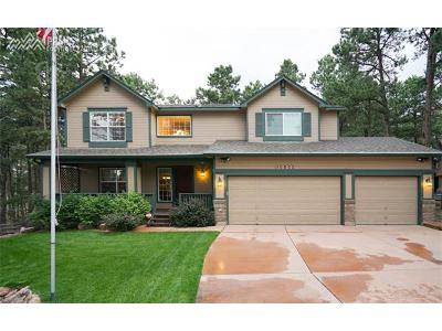 Colorado Springs Single Family Home For Sale: 15973 Longmeadow Lane