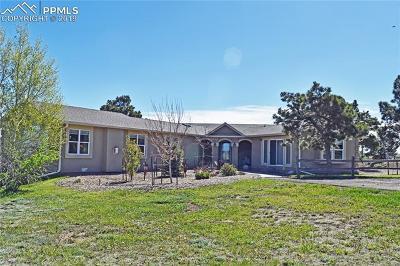 Elbert Single Family Home For Sale: 15805 Teak Place
