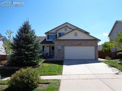 Colorado Springs CO Single Family Home For Sale: $382,900