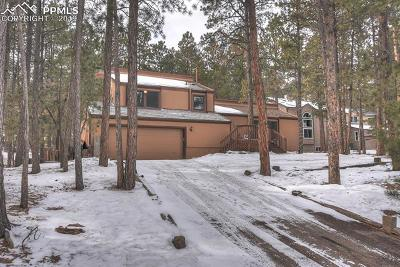 Colorado Springs Single Family Home For Sale: 15260 Sun Hills Drive