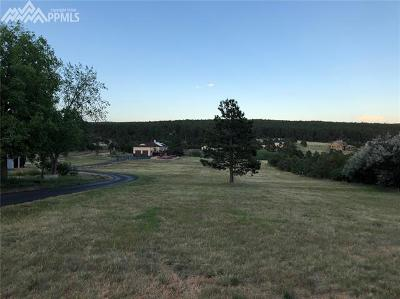 Colorado Springs Single Family Home For Sale: 14965 Sun Hills Drive