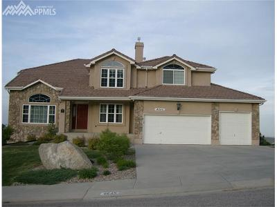 Colorado Springs Single Family Home For Sale: 4645 Alpglen Court