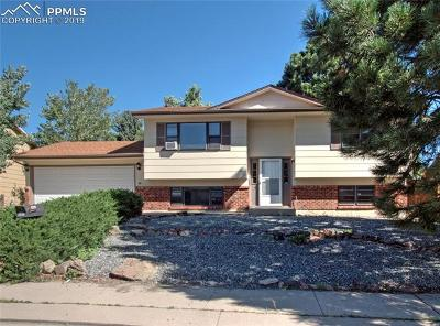 Colorado Springs Single Family Home For Sale: 3280 El Canto Drive