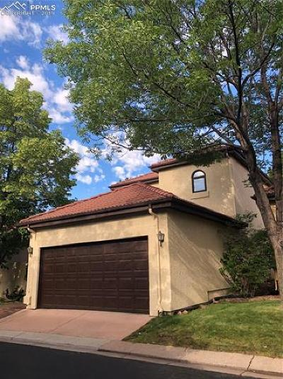 Colorado Springs Single Family Home For Sale: 2520 Paseo Verde