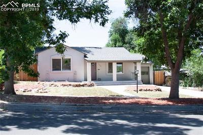 Colorado Springs Single Family Home For Sale: 124 N Sheridan Avenue