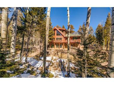 Manitou Springs Single Family Home For Sale: 6365 Waterfall Loop