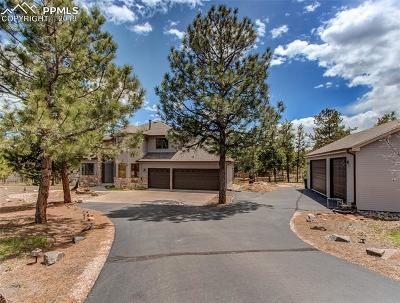 Douglas County, El Paso County, Park County, Teller County Single Family Home For Sale: 7944 Eagle Road