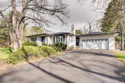 Colorado Springs Single Family Home For Sale: 18 Polo Drive