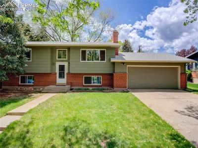 Colorado Springs Single Family Home Under Contract - Showing: 1334 Pike Drive