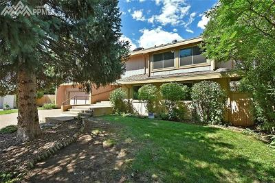 Colorado Springs Single Family Home Under Contract - Showing: 3420 Clubview Terrace