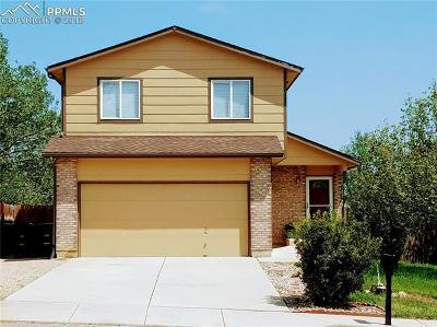 Fountain Single Family Home For Sale: 628 Rye Ridge Road