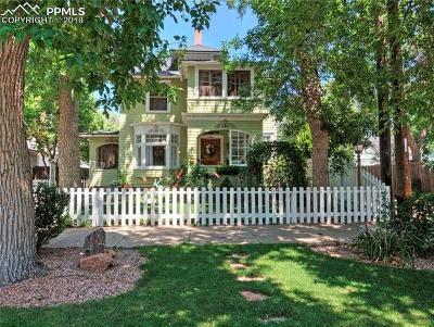 Colorado Springs Single Family Home For Sale: 114 E San Miguel Street