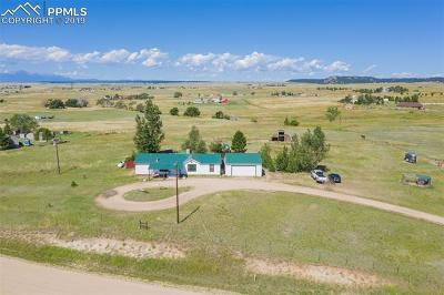 Peyton Single Family Home For Sale: 15260 Wagon Trail