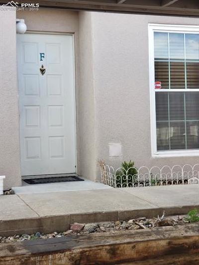 Colorado Springs Condo/Townhouse For Sale: 3430 Parkmoor Village Drive #F