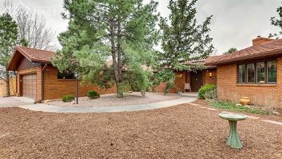 Single Family Home For Sale: 25 E Cheyenne Mountain Boulevard