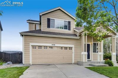 Colorado Springs Single Family Home For Sale: 3739 Range Drive